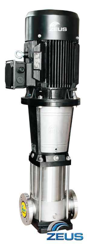 High Pressure Multi Stage Pump : Vertical multi stage pump zeus korean booster